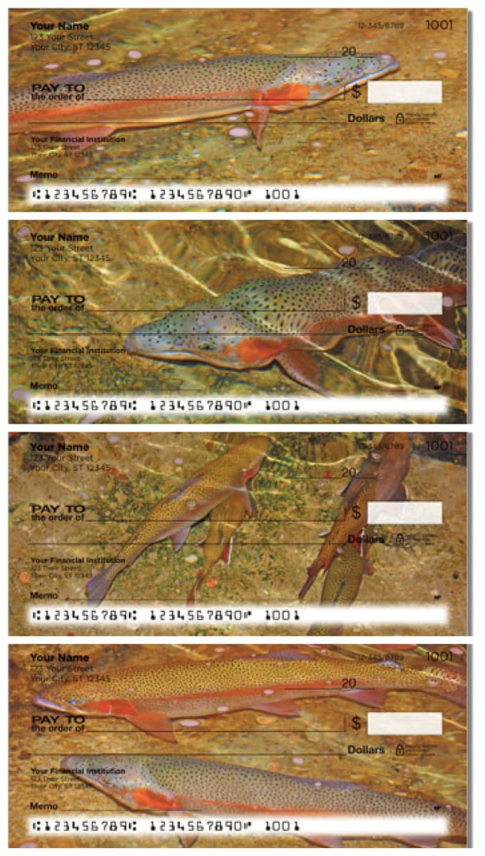 Trout Stream Personal Checks