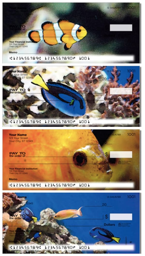 Underwater World Personal Checks