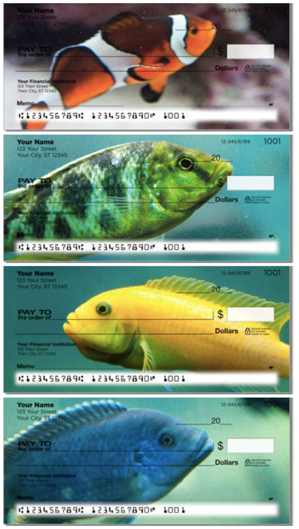 World of Fish Personal Checks